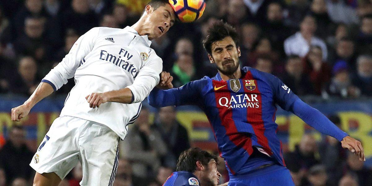 Barcelona y Real Madrid empatan en un clásico intenso