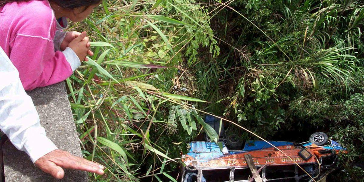 Tres muertos y varios desaparecidos en accidente de tránsito en El Tambo, Cauca