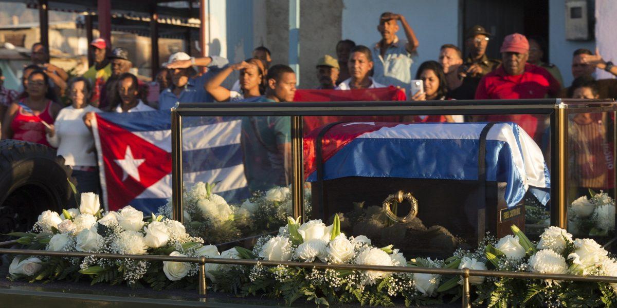 Fidel Castro es, finalmente, enterrado en Santiago de Cuba
