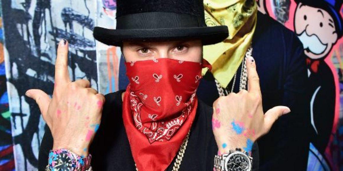 Alec Monopoly el reconocido artista de grafitis es ahora el Art Provocateur de TAG Heuer
