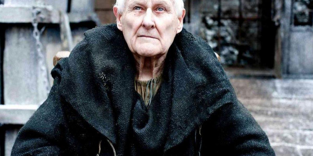 Muere Peter Vaughan, actor de Game of Thrones