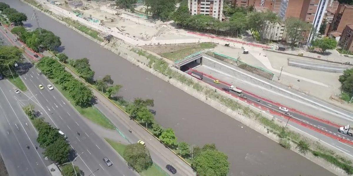 Hay cierre nocturno de la Avenida Regional por obras de Parques del Río
