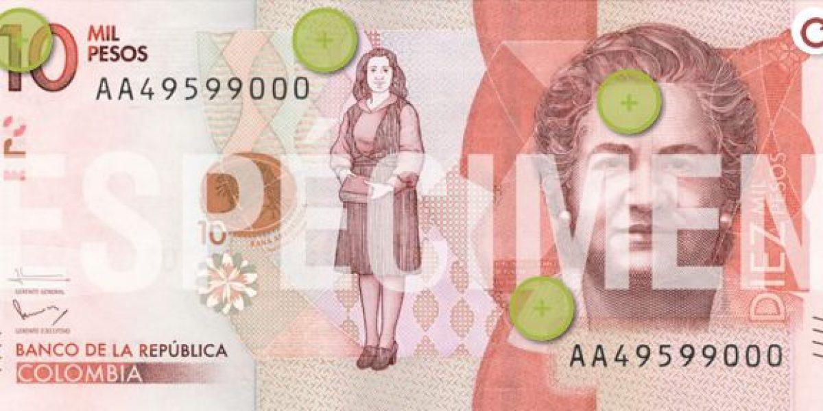Ya comenzó a circular el nuevo billete de 10.000 pesos