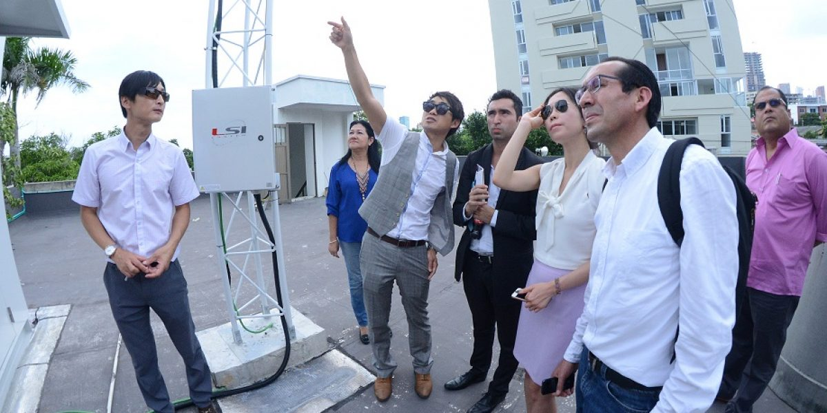 Terminan instalación de 3 estaciones de monitoreo del aire en Barranquilla