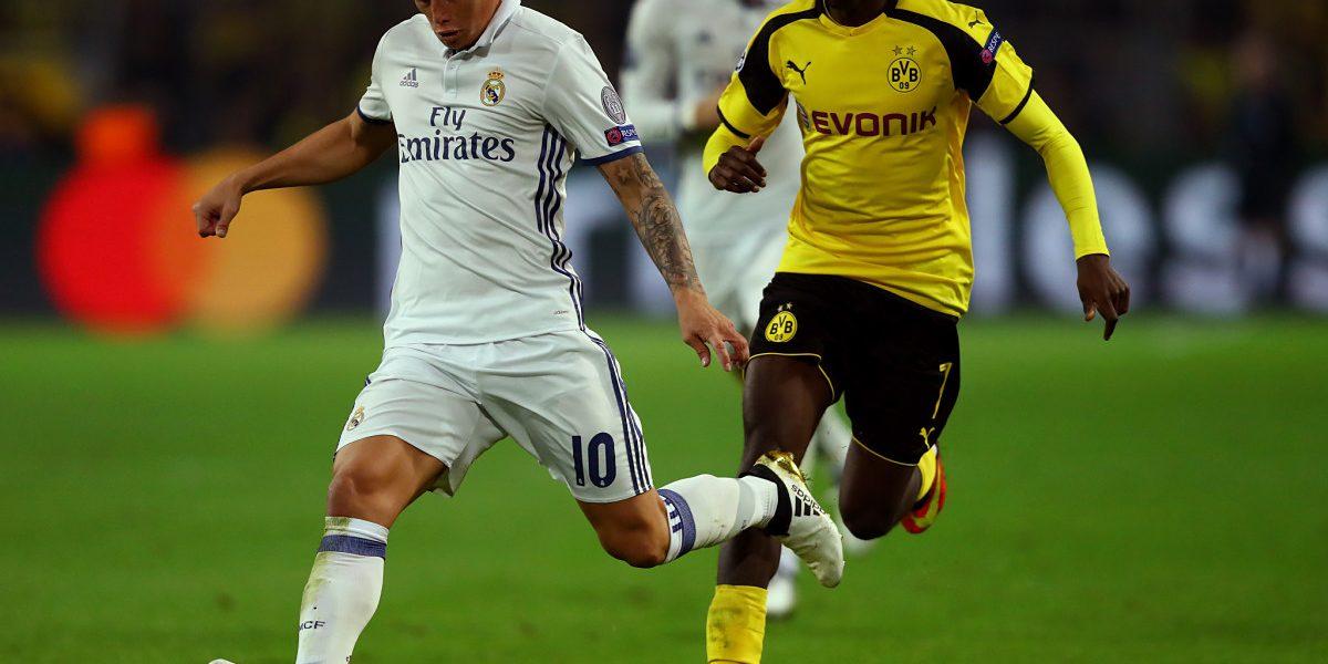 James, ante la última oportunidad: Real Madrid vs Borussia Dortmund