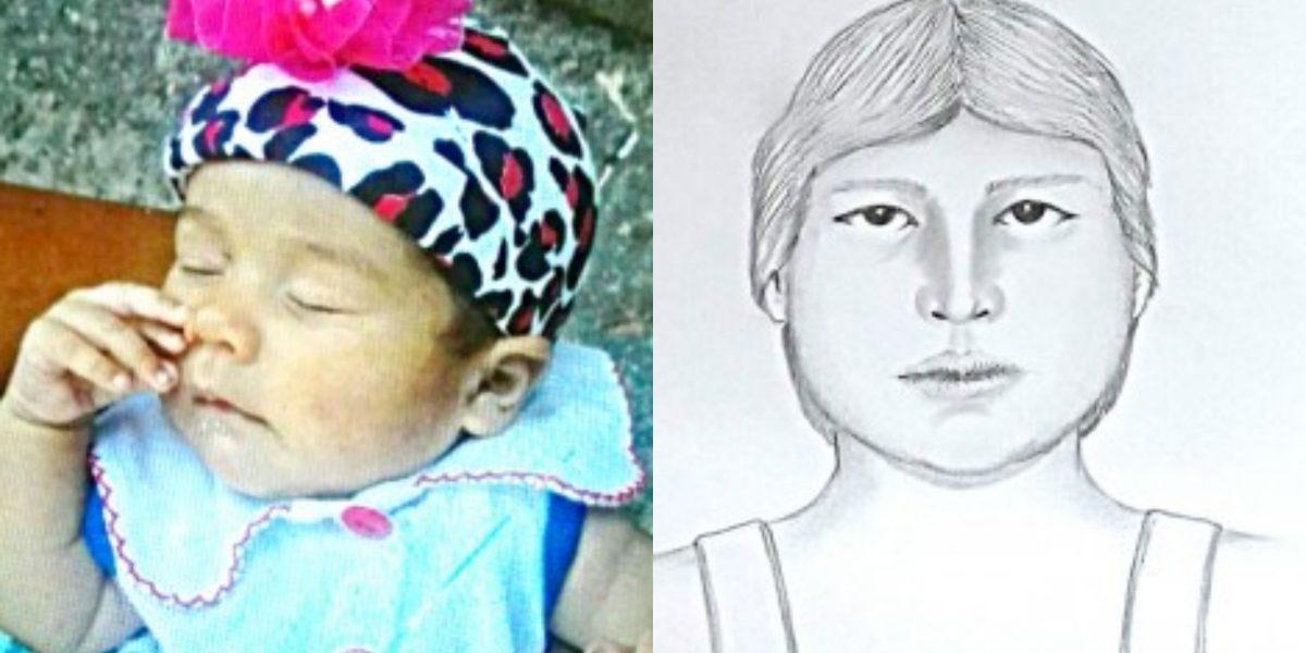 Con retrato hablado buscan a mujer que raptó a bebé de 3 meses en Cali