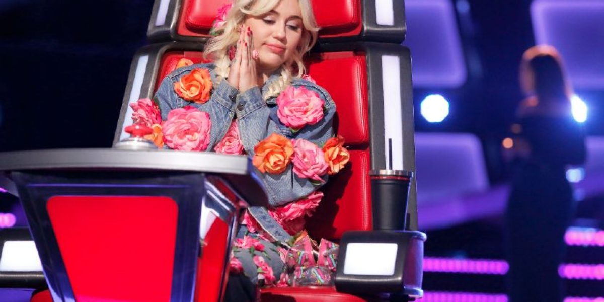 Miley Cyrus, la entrenadora más dulce de The Voice