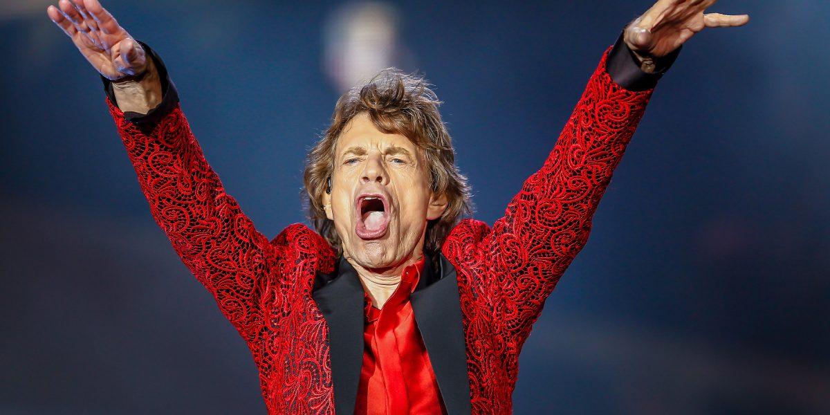 Mick Jagger se convierte en padre por octava vez a los 73 años