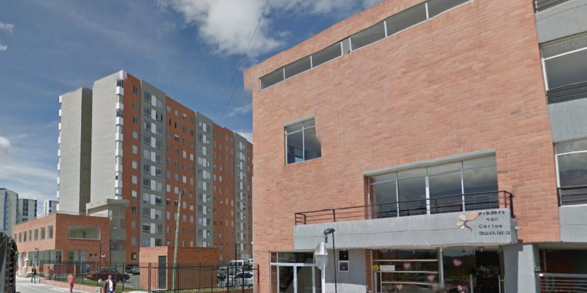 Apartamento en Bogotá se partió en dos
