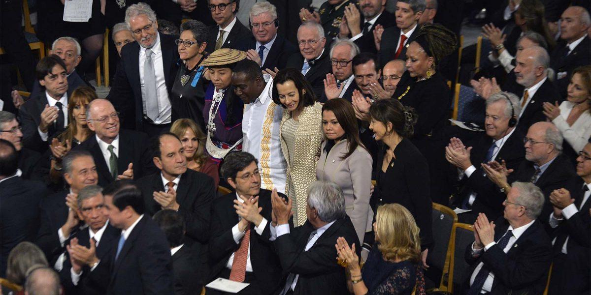 Las víctimas del conflicto con las Farc que se llevaron los aplausos en la entrega del Nobel