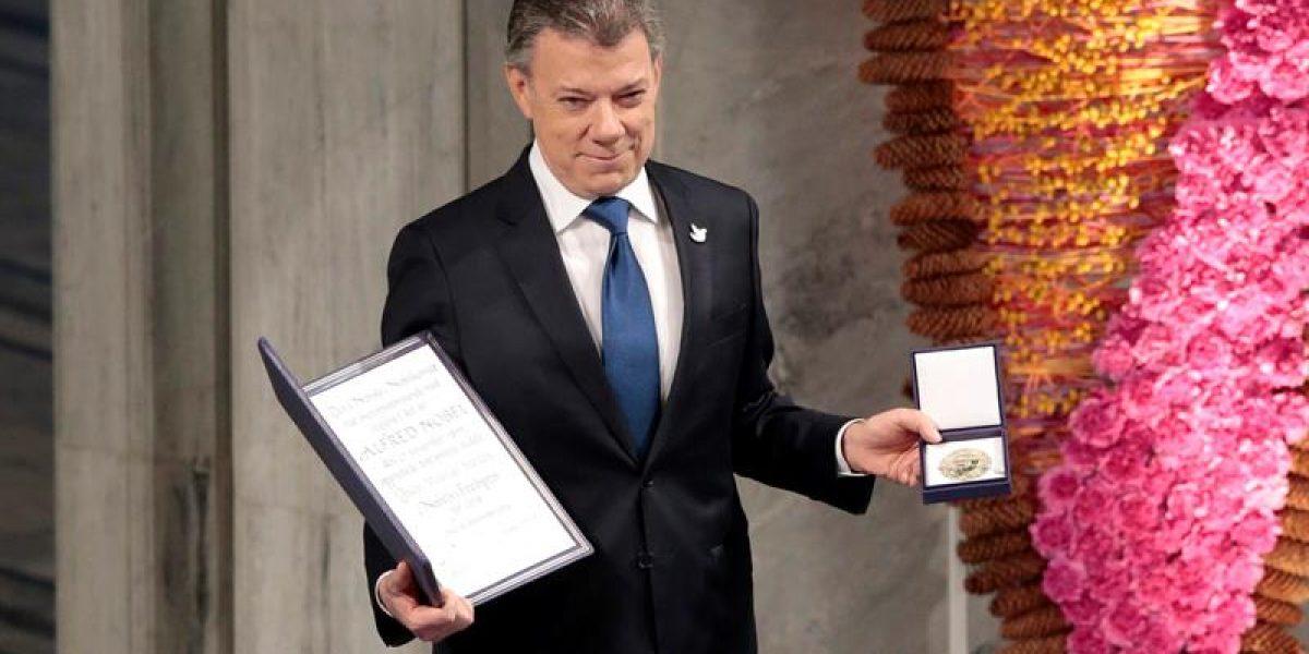 El video de la entrega del Premio Nobel de Paz a Juan Manuel Santos
