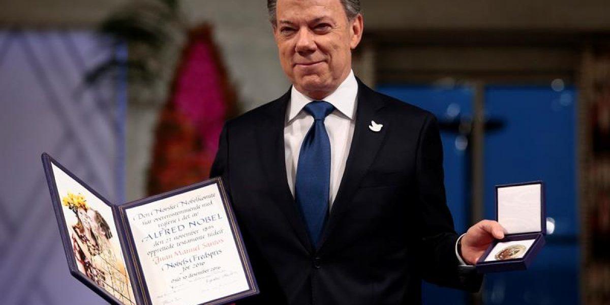 El Premio Nobel de la Paz ya es de Juan Manuel Santos