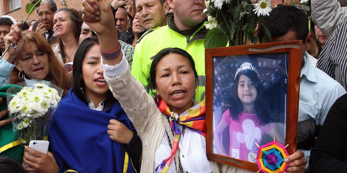 Lo que pide la familia de Yuliana Samboní tras el crimen de su pequeña