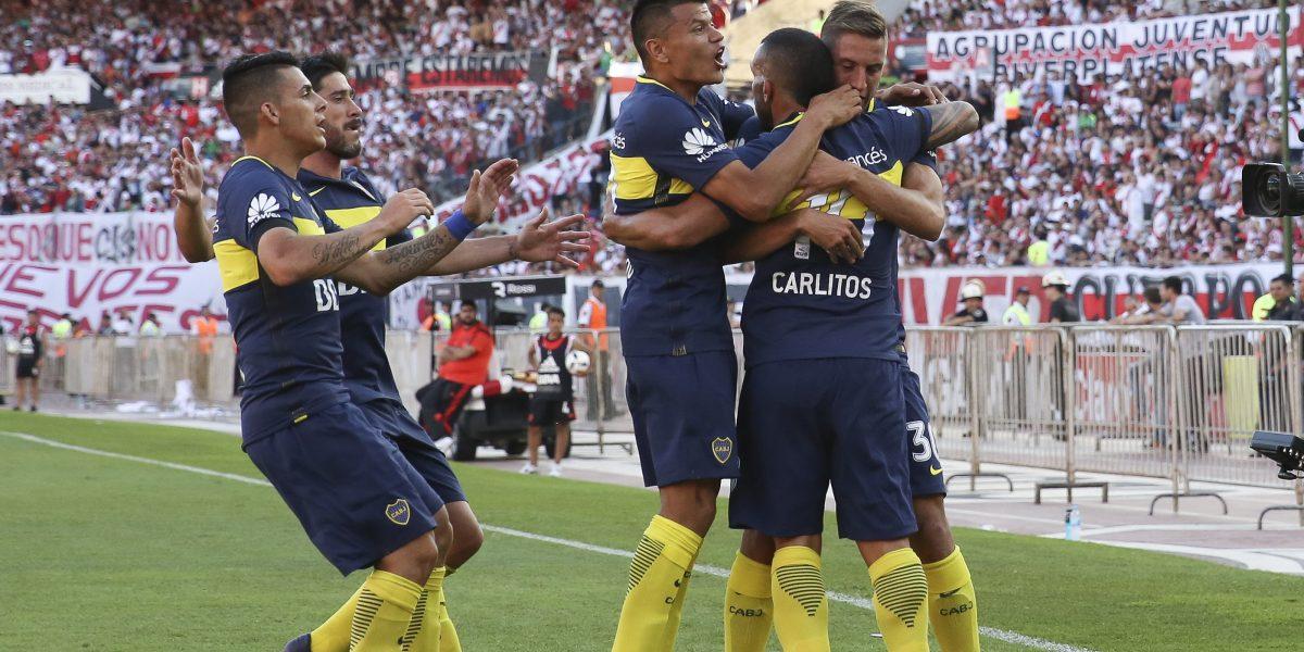 Con Fabra y Sebastián Pérez, Boca se quedó con el superclásico