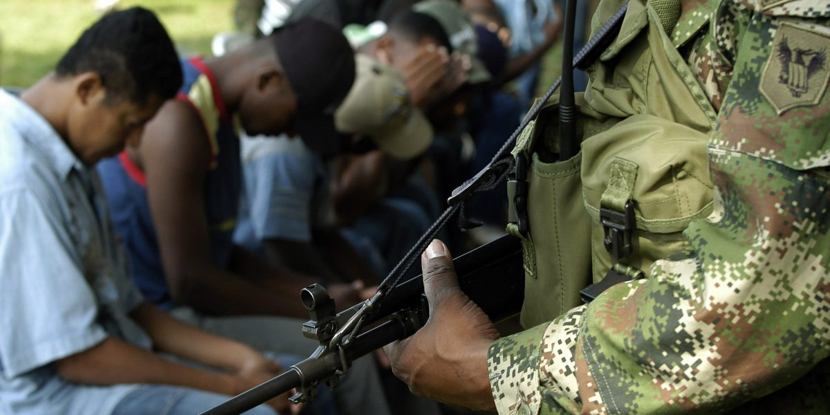 Policía capturó a tres miembros del Eln en Bolívar