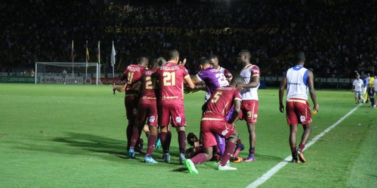 ¡Un canto agónico! Tolima se metió por penales a la final (2-1)