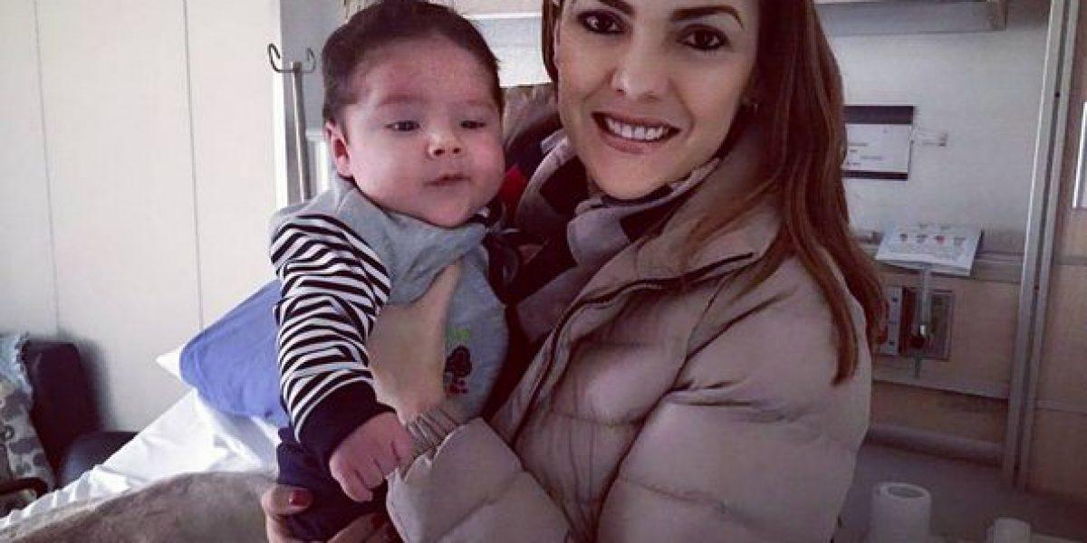 La enfermedad del hijo de Ana Karina Soto