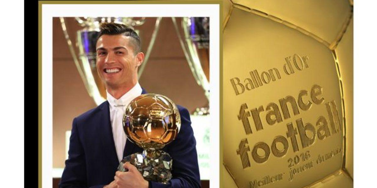 ¡Póquer de oros! Cristiano Ronaldo, ganador del Balón de Oro 2016