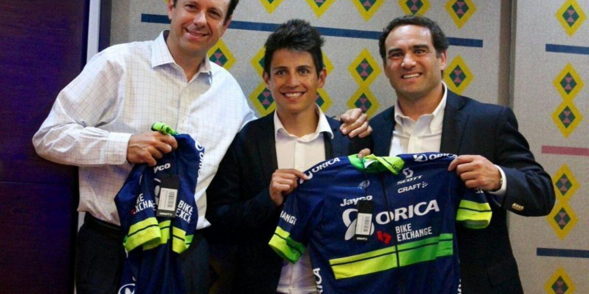 Esteban Chaves empezará con todo el año 2017