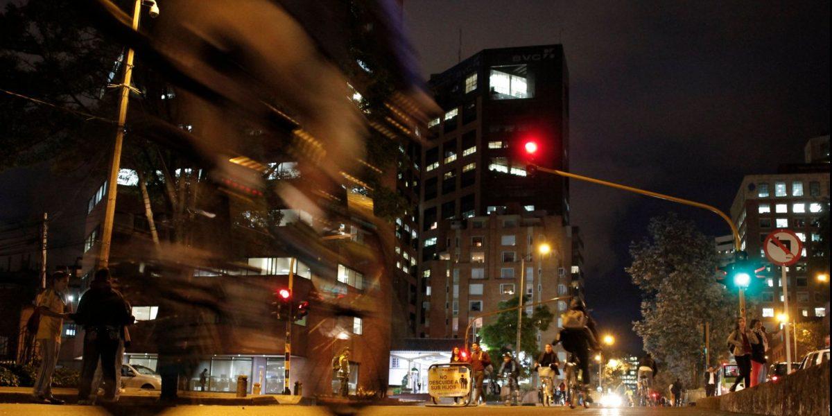 Prográmese para la Ciclovía Nocturna en Bogotá