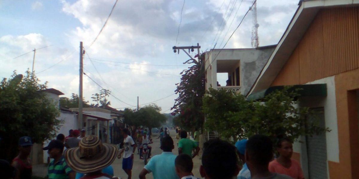Disturbios por cancelación de corraleja que dejó un hombre muerto en Atlántico