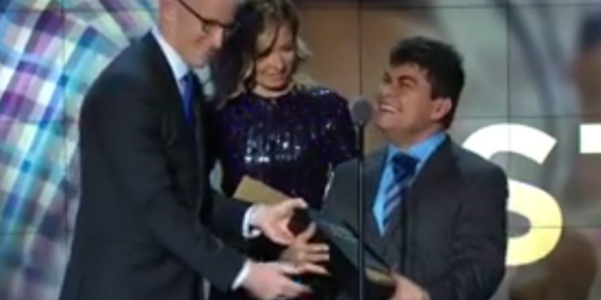 Caleño Jeison Aristizábal es elegido el 'Héroe' de CNN del 2016