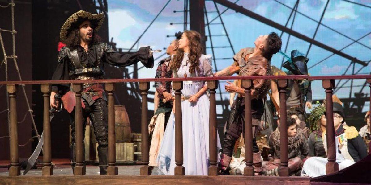 El musical de Peter Pan llega para presentarse en Navidad