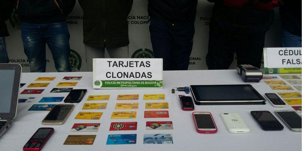 Capturan a 'Los Express', expertos clonadores de tarjetas debito y crédito