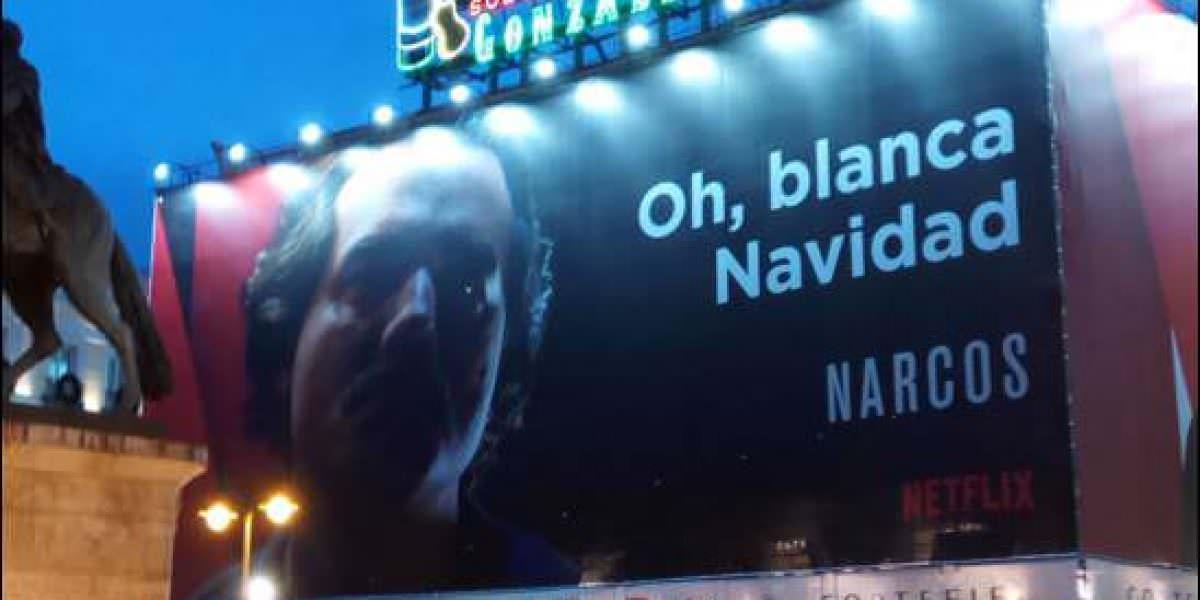 Colombia pide a España que retiren cartel de Netflix sobre serie Narcos