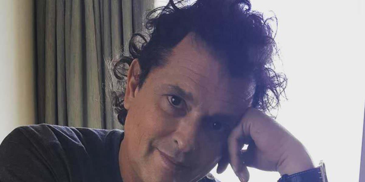 Caída de Carlos Vives quedó registrada en video