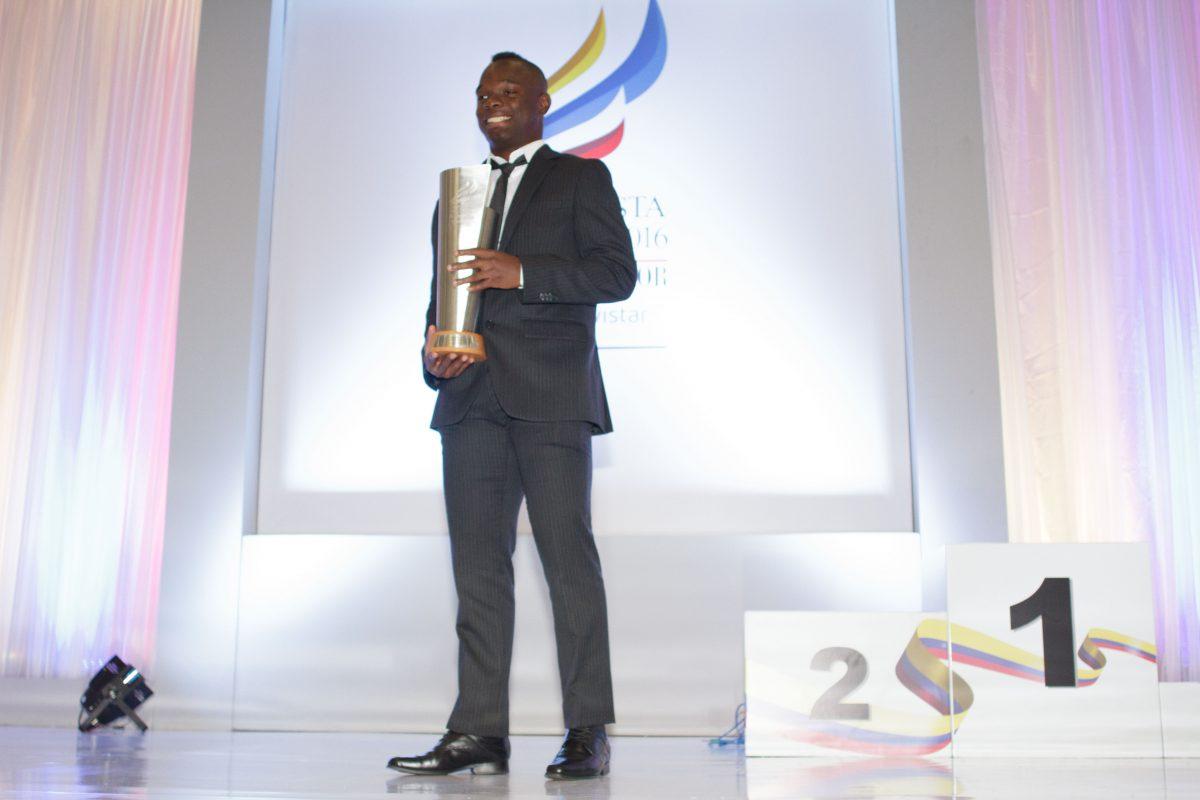 Ceremonia del deportista del año 2016 en Colombia. Imagen Por: Juan Pablo Pino -Publimetro