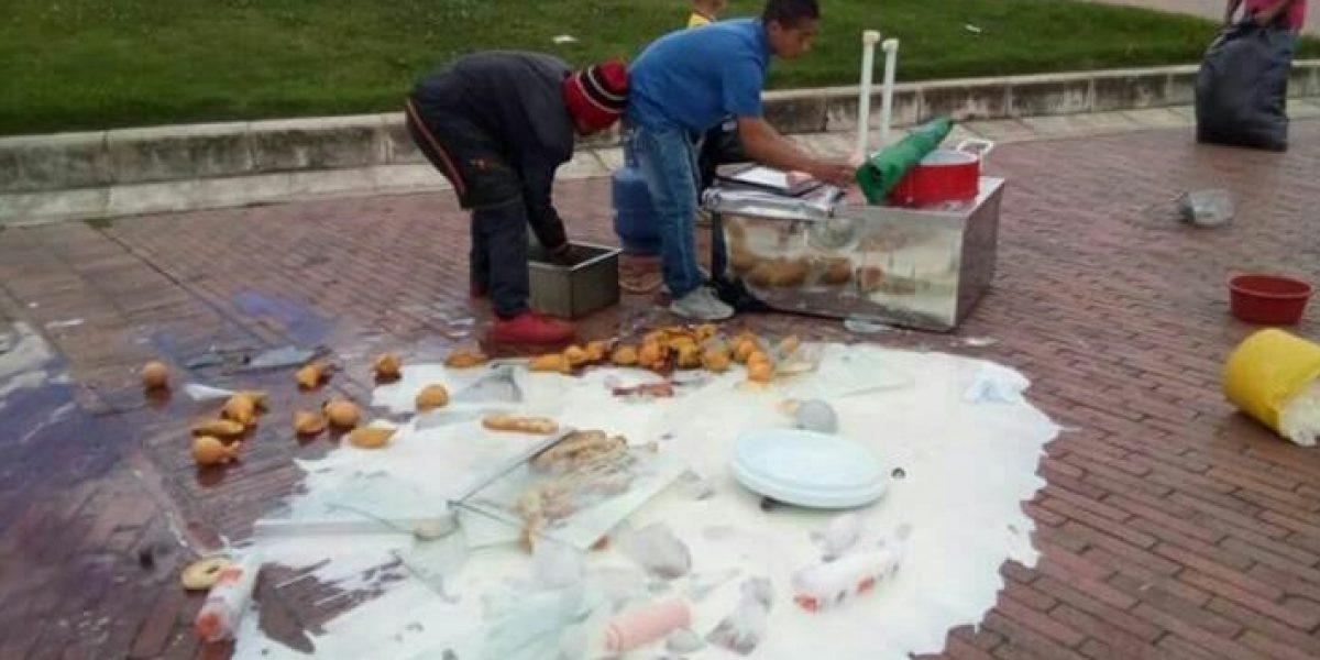 Alcaldía responde por supuesta agresión a vendedores ambulantes