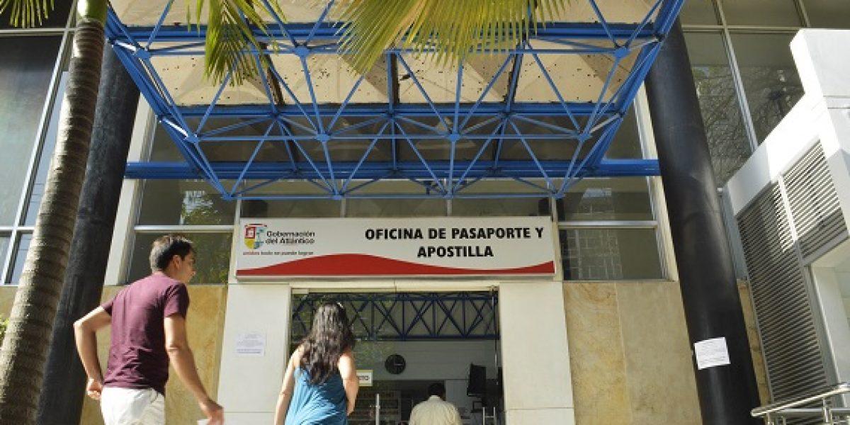 Agilizan jornada para expedir pasaportes en Barranquilla