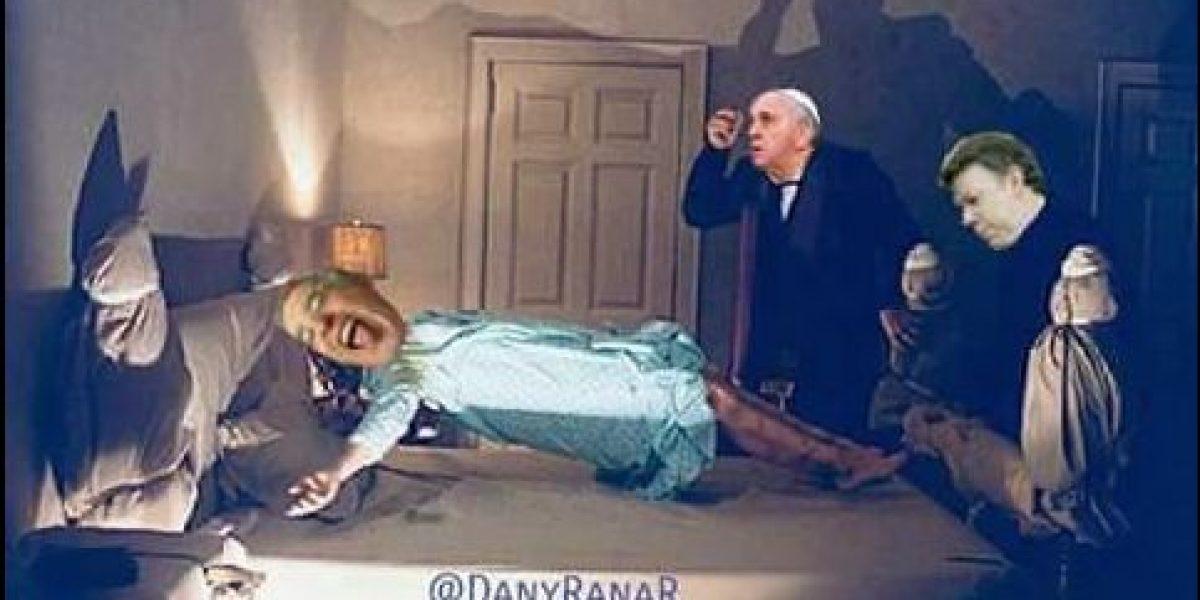 Los memes que dejó la reunión de Santos y Uribe con el papa