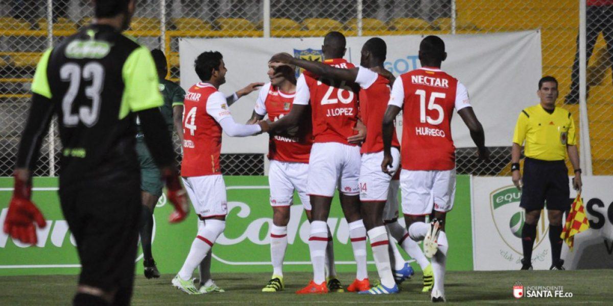 Santa Fe y Tolima definen el título de Liga en Bogotá