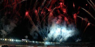 Celebración de la novena estrella de Santa Fe. Imagen Por: Juan Pablo Pino - Publimetro