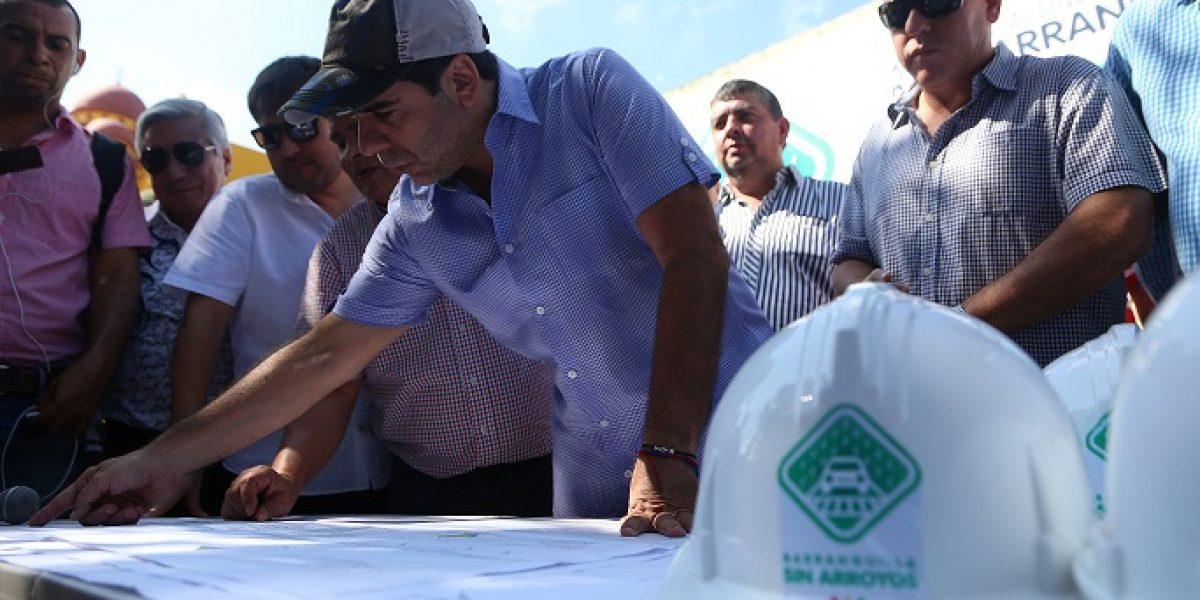 Abren licitación para canalización de arroyos de la calle 91 y 92 en Barranquilla
