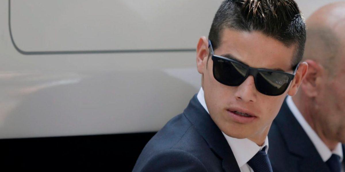 Jorge Mendes: James Rodríguez no se irá del Real Madrid en enero