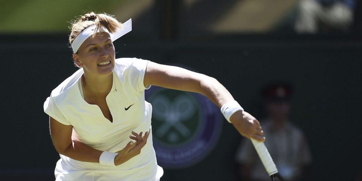 La tenista checa Petra Kvitova, hospitalizada tras sufrir asalto en su casa