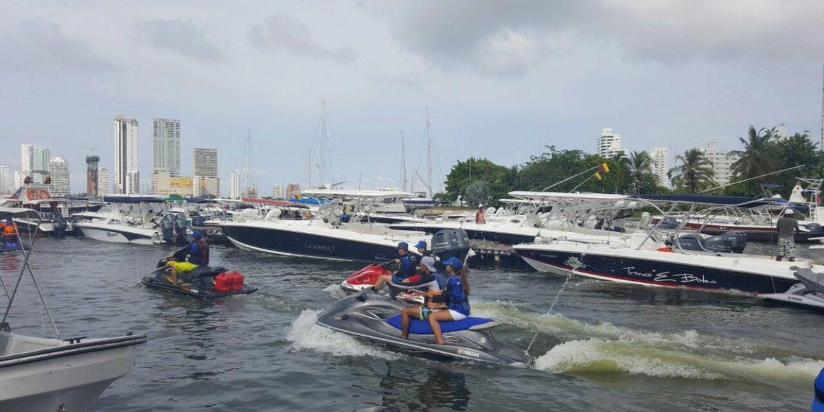 Naufraga lancha con turistas en las Islas del Rosario