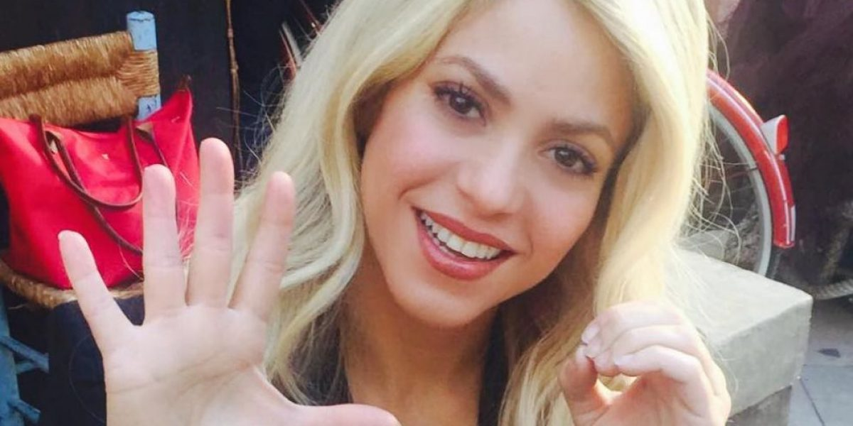El cambio de look de Shakira para fin de año