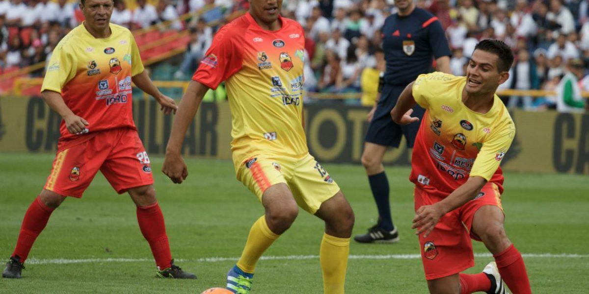 El primer Día del Fútbol Bogotano fue un éxito