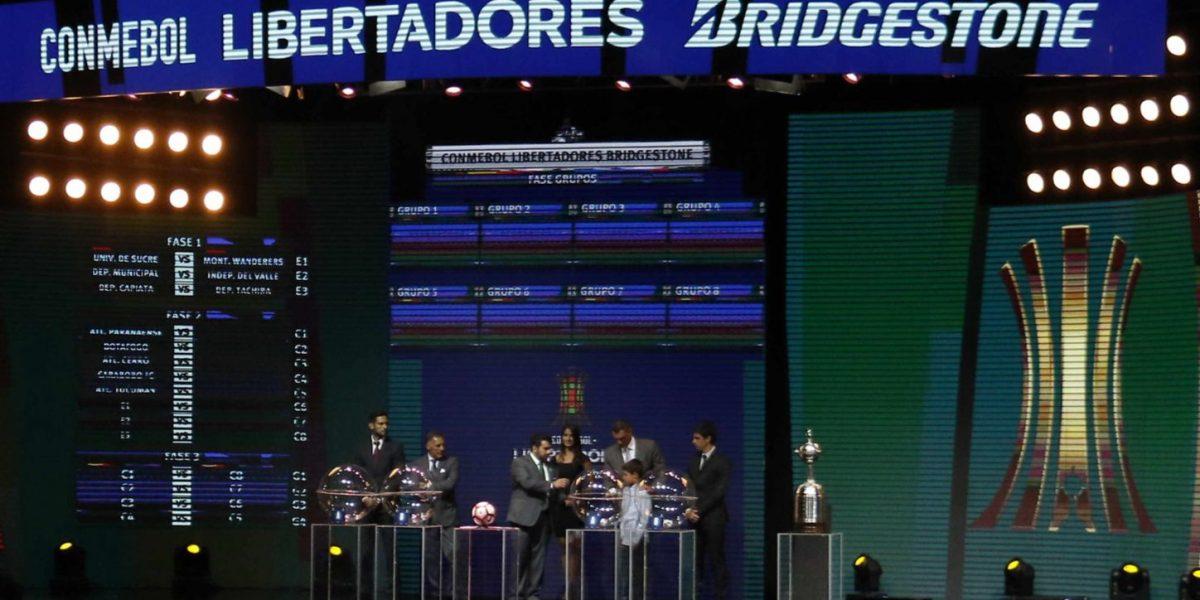Sorteo de la copa Conmebol Libertadores Bridgeston 2017 para los colombianos