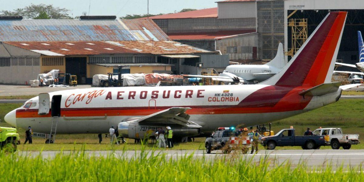 Accidente de avión en Colombia deja cinco muertos y un herido