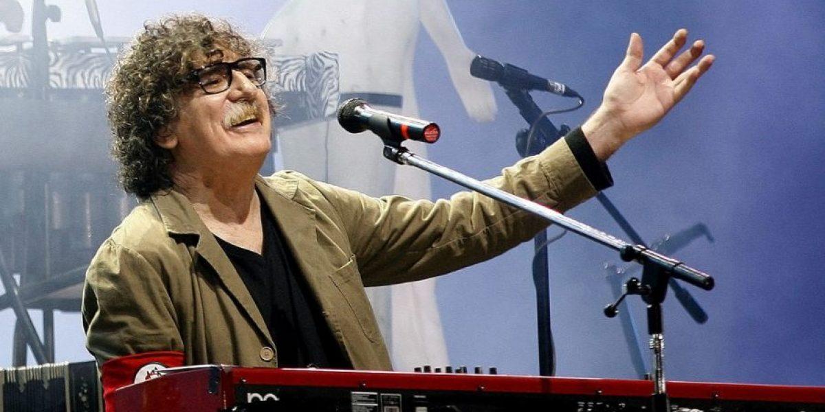 Hospitalizan al músico argentino Charly García
