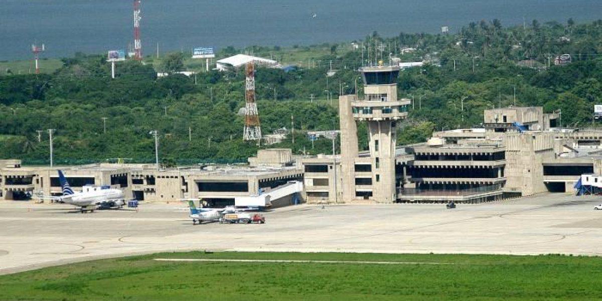 Operación especial en las terminales aérea y de transporte en Barranquilla