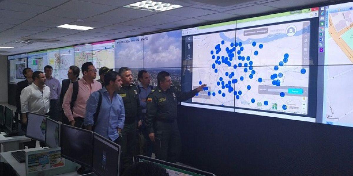 Barranquilla: más vigilada con 544 nuevas cámaras de seguridad