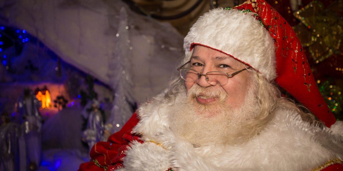Papá Noel costeño hace un llamado a la protección de la infancia en Navidad