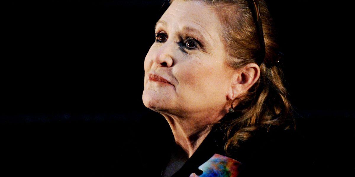 Carrie Fisher, la princesa Leia, falleció a los 60 años