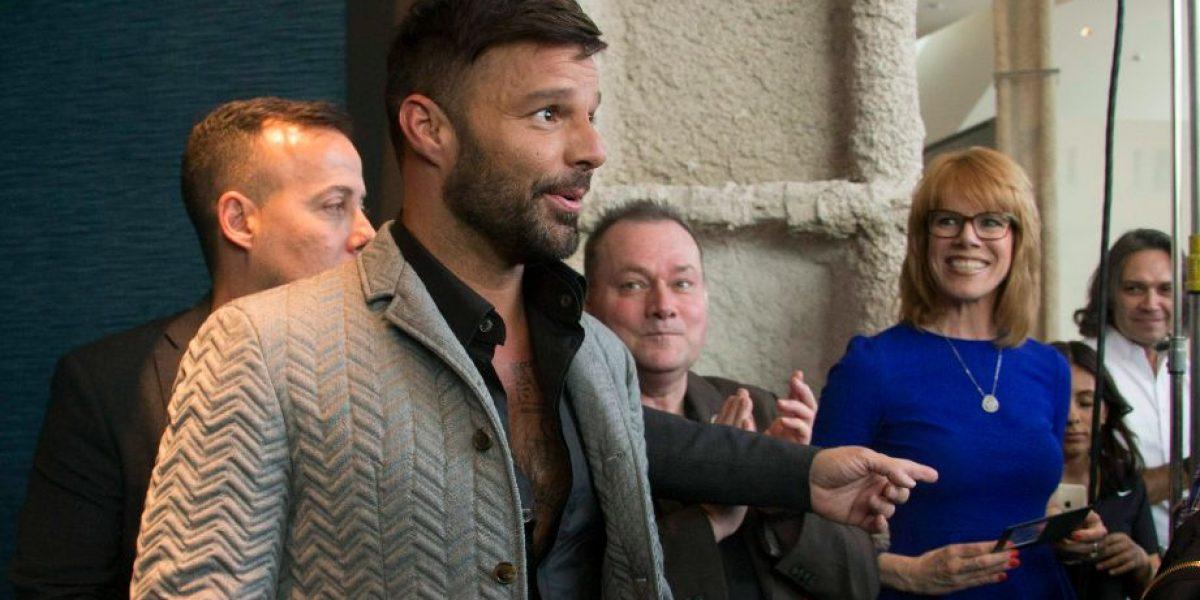 Papa de Ricky Martin en grave estado de salud